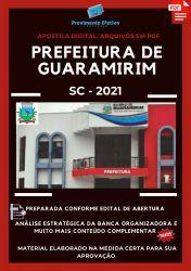Apostila Pref Guaramirim SC Serviços Gerais Ano 2021