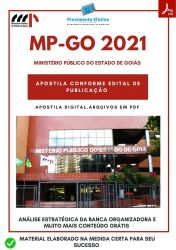 Apostila MP GO Secretário Auxiliar Concurso 2021