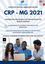 Apostila CRP MG Assistente Administrativo Técnico I Prova 2021