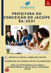 Apostila Pref Conceição do Jacuípe BA Fisioterapeuta Ano 2021