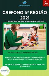 Apostila CREFONO 3ª Região Fiscal Ano 2021