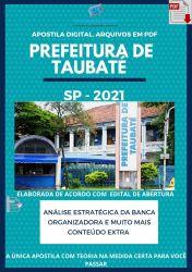 Apostila Prefeitura Taubaté SP Técnico Enfermagem Ano 2021