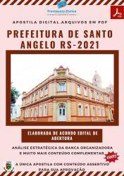 Apostila Pref Santo Ângelo RS Agente Endemias Ano 2021