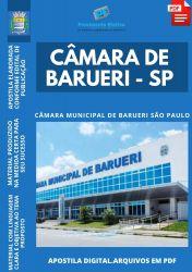 Apostila Câmara Barueri SP Analista Legislativo Prova 2021