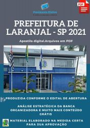 Apostila Pref Laranjal Paulista Técnico Enfermagem Ano 2021