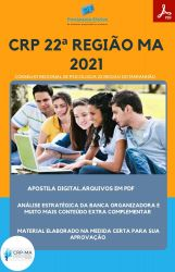 Apostila CRP MA 22ª Auxiliar Serviços Administrativos Prova 2021