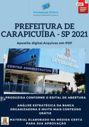 Apostila Pref Carapicuíba SP Agente Comunitário Prova 2021