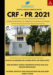 Apostila CRF PR Farmacêutico Fiscal Prova 2021
