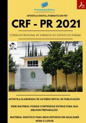 Apostila CRF PR Assistente Administrativo Prova 2021