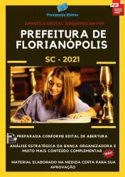 Apostila Pref Florianópolis SC Administrador Escolar Ano 2021