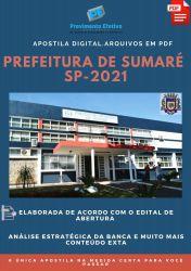 Apostila Prefeitura Sumaré SP Terapeuta Ocupacional Ano 2021