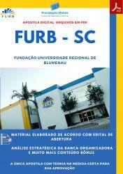 Apostila FURB SC Assistente Social Seleção 2021