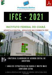 Apostila IFCE Técnico Assuntos Educacionais Concurso 2021