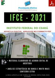 Apostila IFCE Técnico Enfermagem Concurso 2021