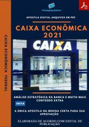 Apostila Caixa Econômica Tecnologia Informação Ano 2021