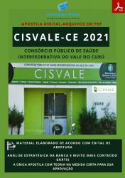 Apostila CISVALE CE Terapeuta Ocupacional Ano 2021
