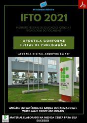 Apostila IFTO Auditor Concurso Público 2021