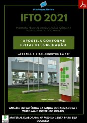 Apostila IFTO Tecnologia da Informação Técnico Concurso 2021