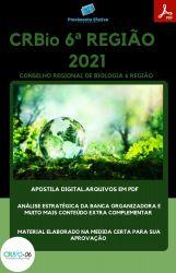 Apostila CRBIO 6 Região Auxiliar Serviços Gerais Concurso 2021