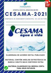 Apostila CESAMA MG Técnico Química Concurso 2021