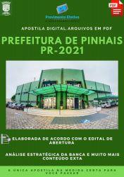 Apostila Prefeitura Pinhais PR Pedagogo Ano 2021