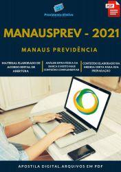 Apostila MANAUSPREV Auditoria Analista Ano 2021