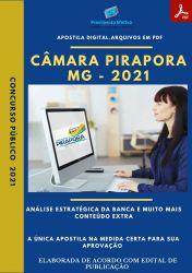 Apostila Câmara Pirapora MG Assessor Jurídico Ano 2021