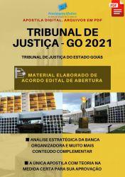 Apostila TJ GO Área Judiciária Ano 2021