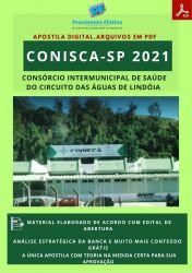 Apostila CONISCA SP Técnico Enfermagem Prova 2021