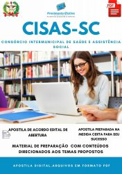 Apostila CISAS SC Psicólogo Seleção 2021