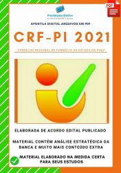 Apostila CRF PI Assistente Administrativo Concurso 2021