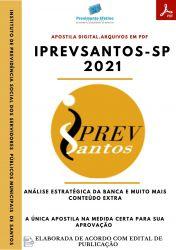 Apostila IPREVSANTOS SP Analista Previdenciário Contábil Prova 2021