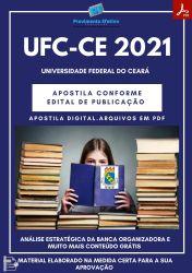 Apostila UFC CE Assistente Social Prova 2021