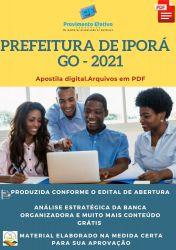 Apostila Prefeitura Iporá GO Pedagogia Prova 2021