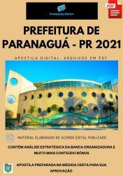Apostila Pref Paranaguá PR Farmacêutico Prova 2021