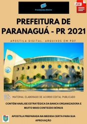 Apostila Prefeitura Paranaguá PR Fonoaudiólogo Prova 2021