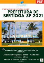 Apostila Prefeitura Bertioga SP Médico Veterinário Prova 2021