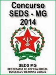 Apostila SEDS MG 2014 - Medicina. Frete Grátis.